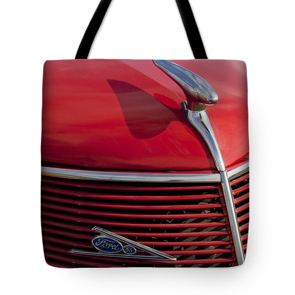 1937 Ford Hood Ornament Tote Bag by Jill Reger