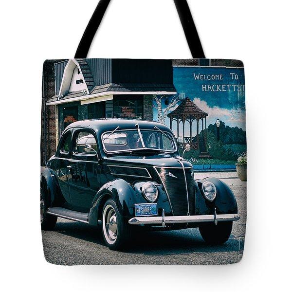 1937 Ford Sedan Tote Bag