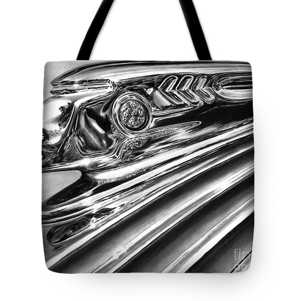 1937 Pontiac Chieftain Abstract Tote Bag by Peter Piatt