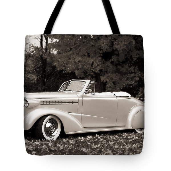 1938 Chevrolet Convertible Tote Bag