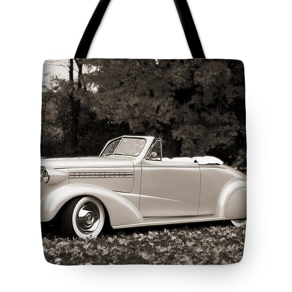 1938 Chevrolet Convertible Tote Bag