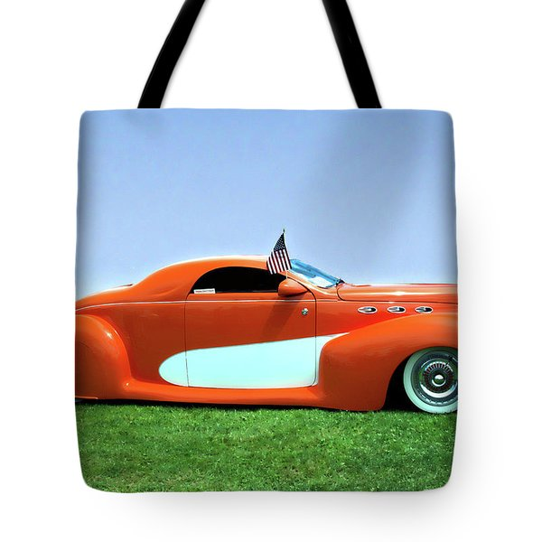 1939 Lincoln Zephyr Coupe Tote Bag