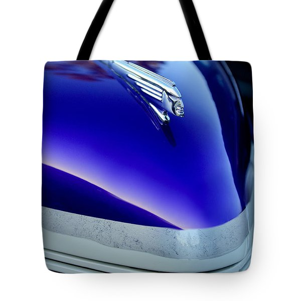 1939 Pontiac Coupe Hood Ornament 3 Tote Bag by Jill Reger