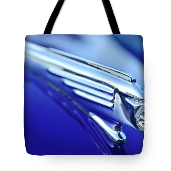 1939 Pontiac Coupe Hood Ornament 4 Tote Bag by Jill Reger