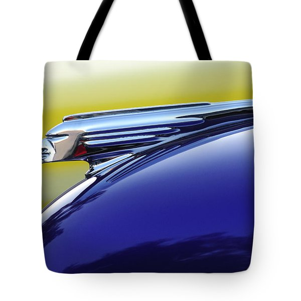 1939 Pontiac Coupe Hood Ornament Tote Bag by Jill Reger