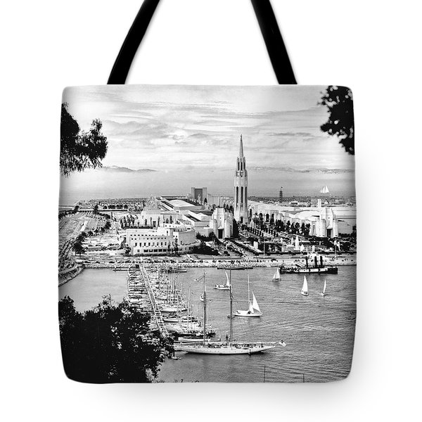 1939 Treasure Island View Tote Bag