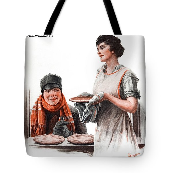 Tote Bag featuring the photograph Cover Of Country Gentleman Agricultural by Remsberg Inc