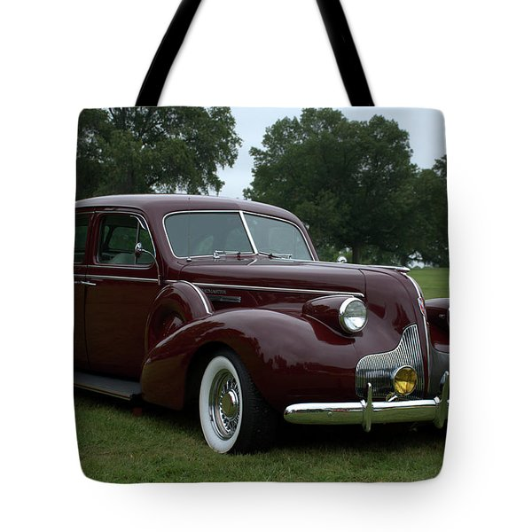 1939 Buick Roadmaster Formal Sedan Tote Bag by Tim McCullough