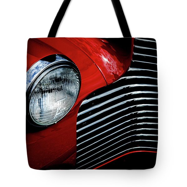 1940 Chevy 2-door Tote Bag