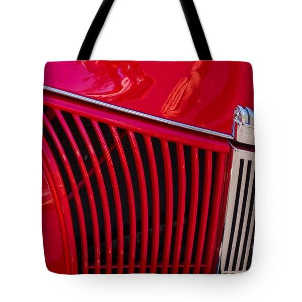 1940 Ford Pickup Grill Tote Bag