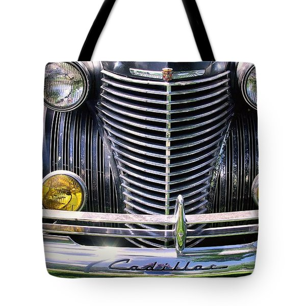 1940s Caddie Full Frontal Oh La La Tote Bag by John S