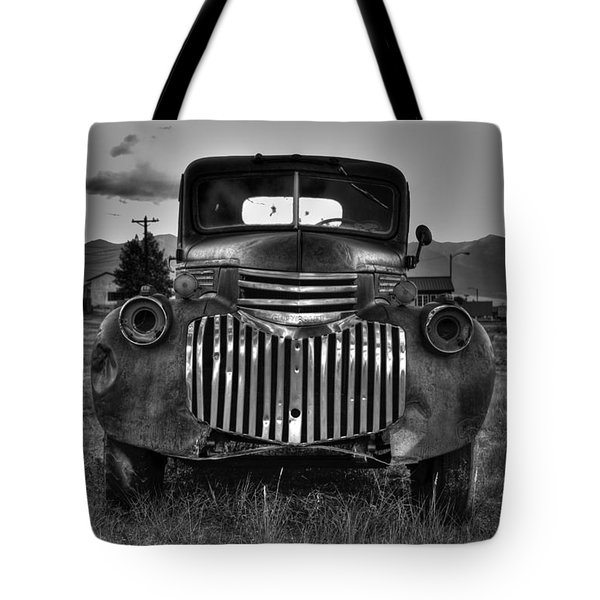 1940's Chevrolet Grille Tote Bag