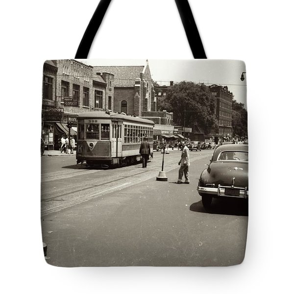 1940's Inwood Trolley Tote Bag