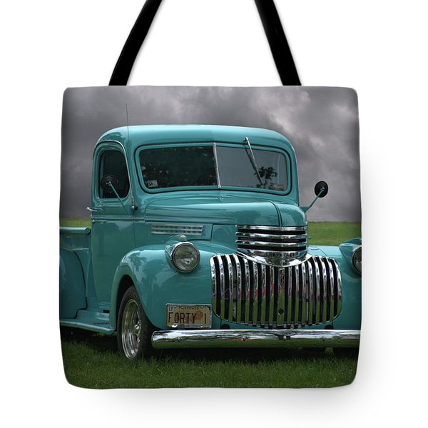 1941 Chevrolet Pickup Truck Tote Bag by Tim McCullough