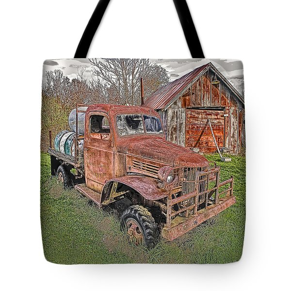 1941 Dodge Truck #2 Tote Bag