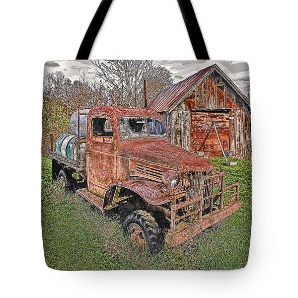 1941 Dodge Truck #2 Tote Bag by Mark Allen