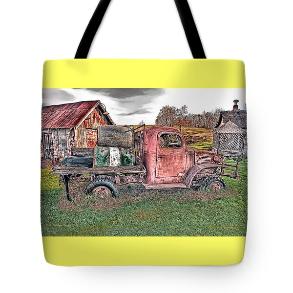 1941 Dodge Truck Tote Bag
