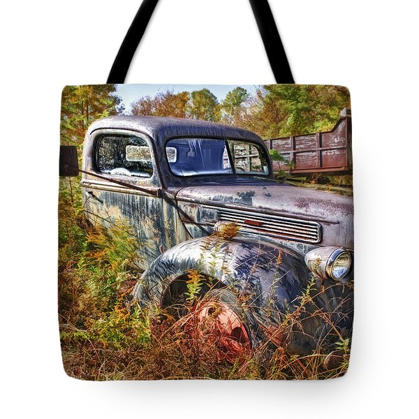 1941 Ford Truck Tote Bag by Mark Allen
