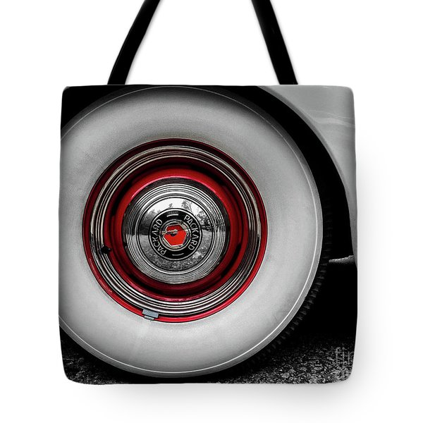 1941 Packard Convertible Wheels Tote Bag
