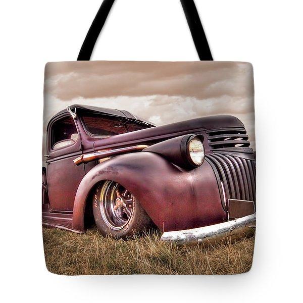 1941 Rusty Chevrolet Tote Bag