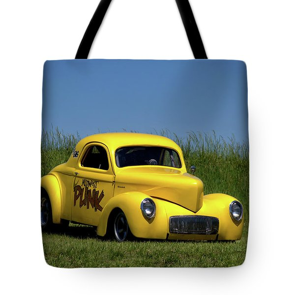 1941 Willys Coupe Tote Bag