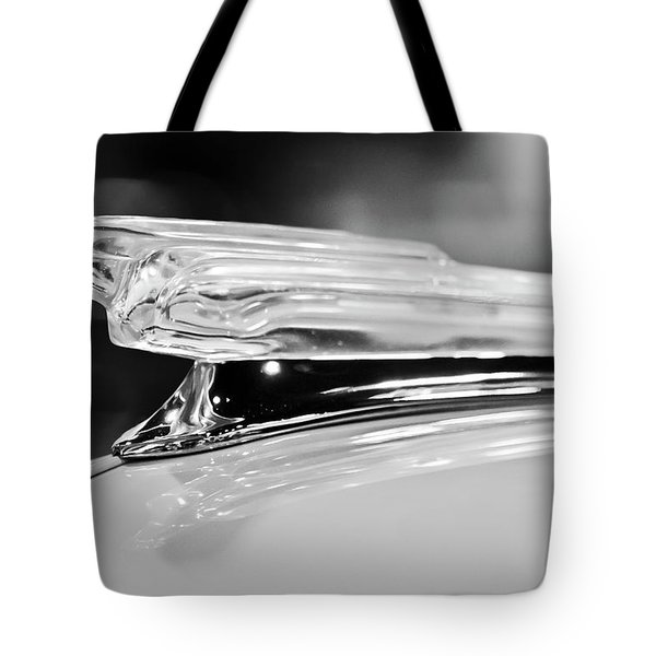 1942 Chevrolet Fleetline Hood Ornament 2 Tote Bag by Jill Reger