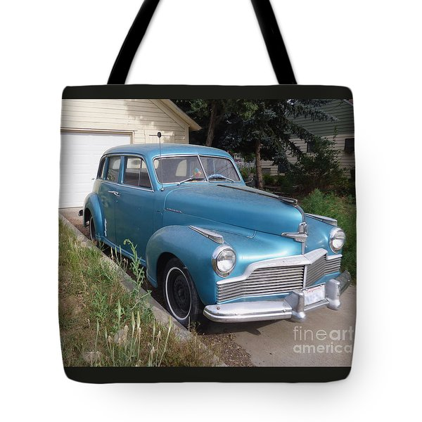 1942 Studebaker Commander Custom Crusing Sedan Tote Bag