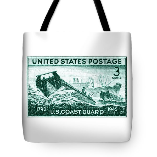 1945 Coast Guard Issue Stamp Tote Bag