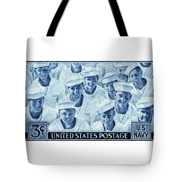 1945 Us Navy Issue Stamp Tote Bag