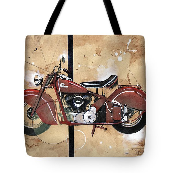 1946 Chief Tote Bag