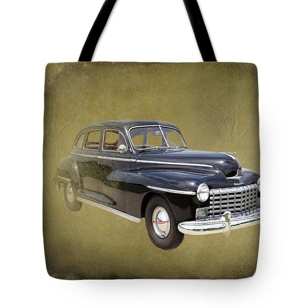 1946 Dodge D24c Sedan Tote Bag