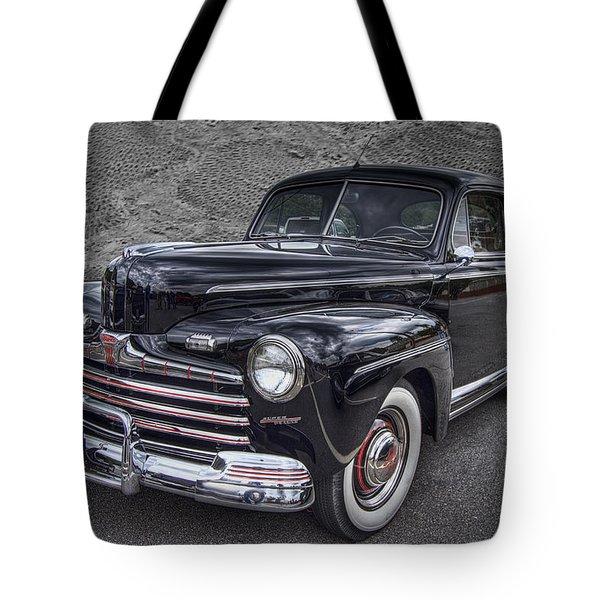 1946 Ford Tote Bag by Debra and Dave Vanderlaan