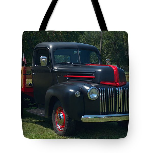 1946 Ford Stake Side Truck Tote Bag by Tim McCullough