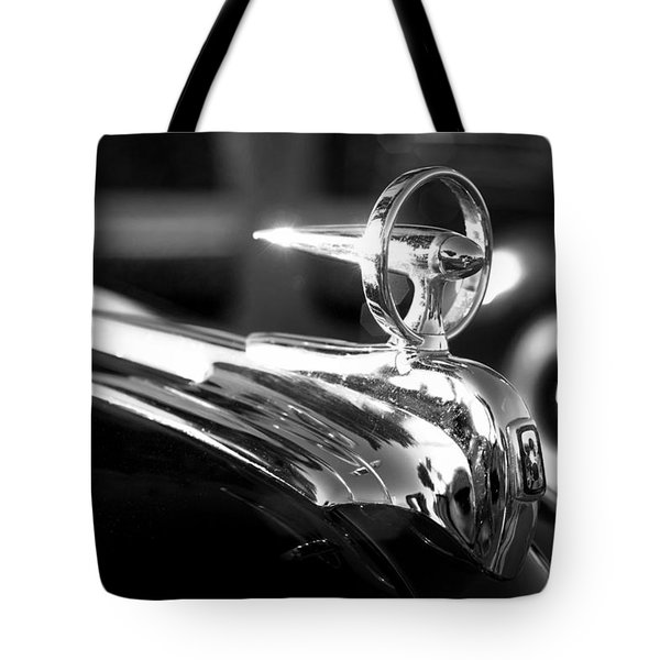 1946 Ford V8 Hood Ornament Tote Bag