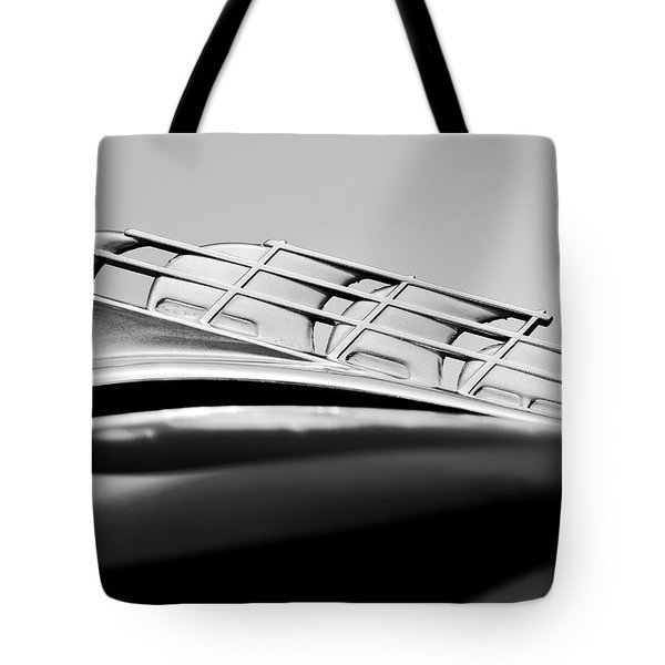 1946 Plymouth Hood Ornament 2 Tote Bag by Jill Reger