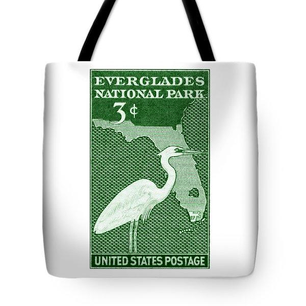 1947 Everglades Florida Stamp Tote Bag