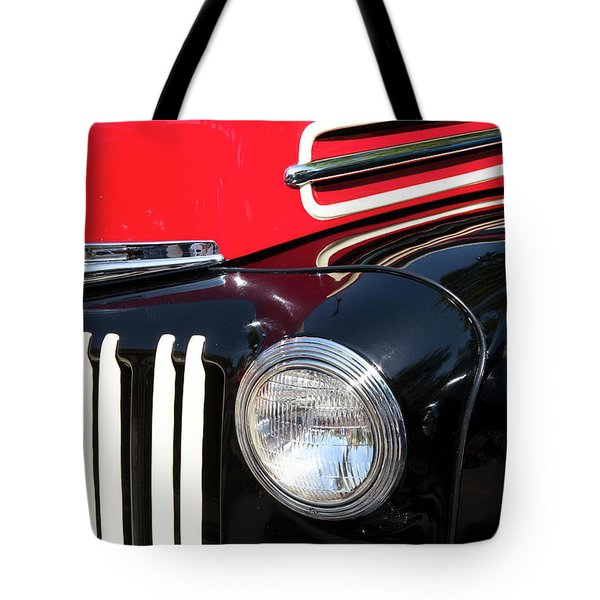 Tote Bag featuring the photograph 1947 Vintage Ford Pickup Truck by Theresa Tahara