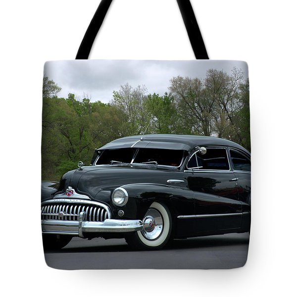 1948 Buick Tote Bag by Tim McCullough