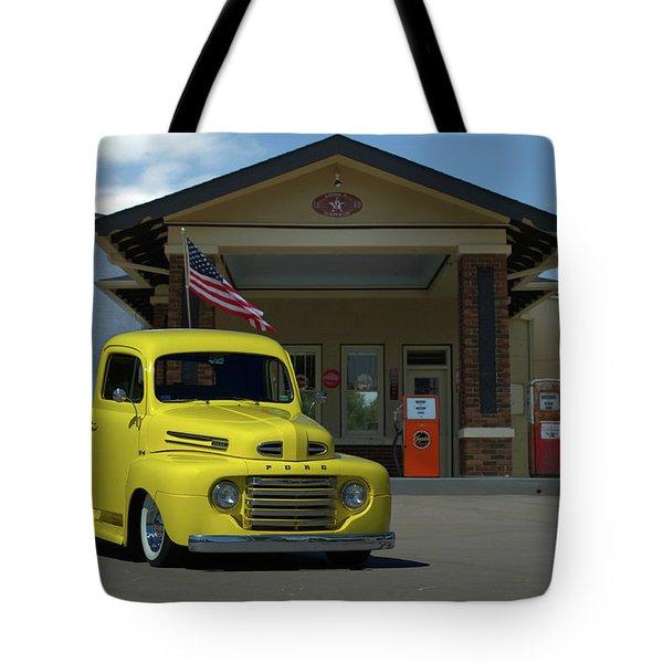 1948 Ford F1 Pickup Truck Tote Bag