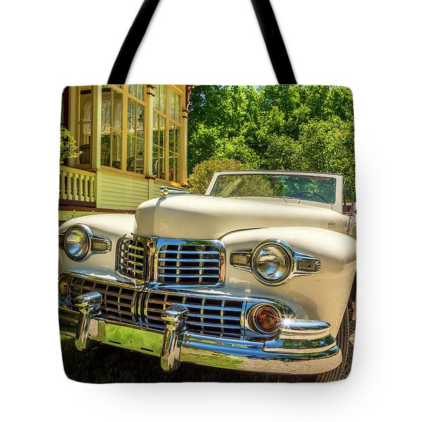 1948 Lincoln Convertible  Tote Bag by Ken Morris