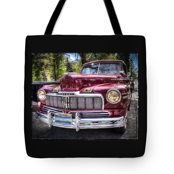 1948 Mercury Convertible Tote Bag
