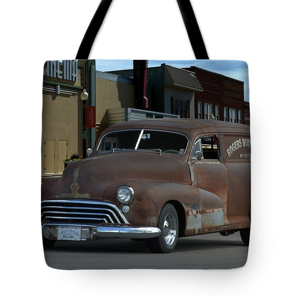 1948 Oldsmobile Sedan Delivery Tote Bag by Tim McCullough