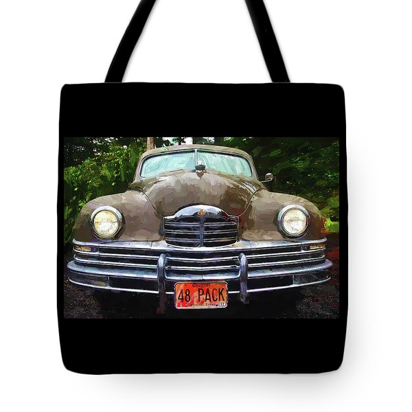 1948 Packard Super 8 Touring Sedan Tote Bag