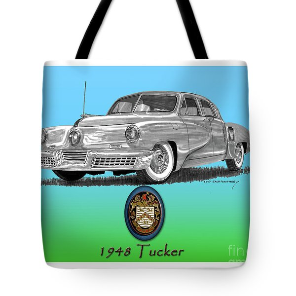 1948 Tucker Tote Bag