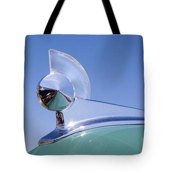 1949 Ford Hood Ornament Tote Bag