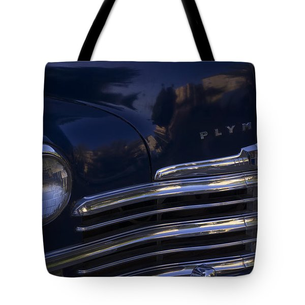 1949 Plymouth Deluxe  Tote Bag