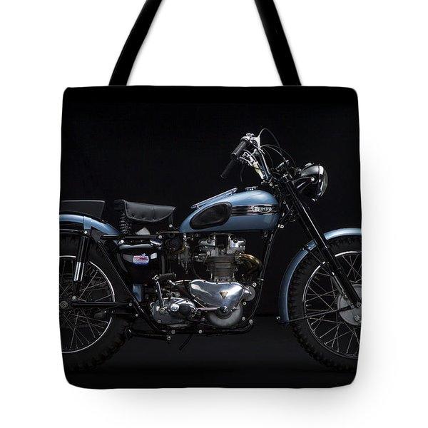 1949 Triumph Trophy Tote Bag