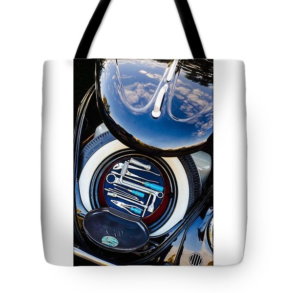 1949 Volkswagen Tool Kit Tote Bag by Jill Reger