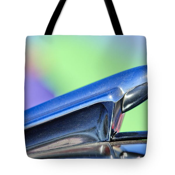 1950 Chevrolet Hood Ornament 3 Tote Bag by Jill Reger