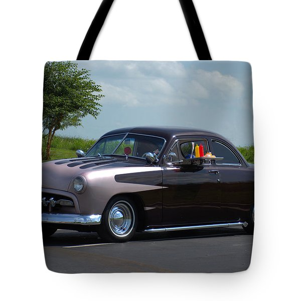 1950 Ford Tote Bag by Tim McCullough